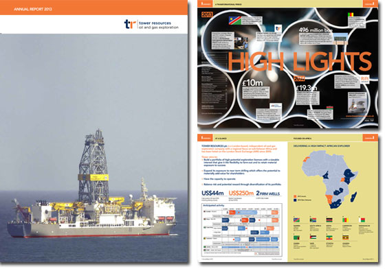 Tower Resources Annual Report 2013